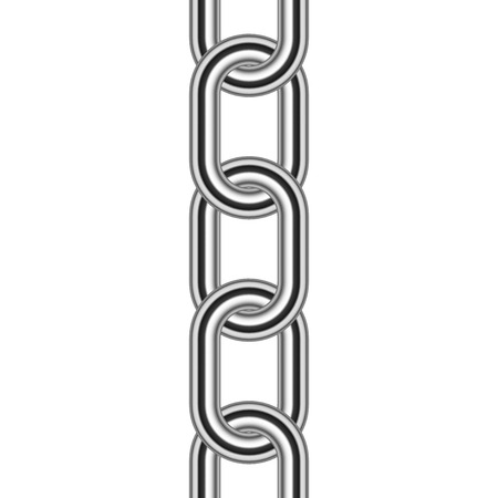 fetter: Vector illustration of chain Illustration