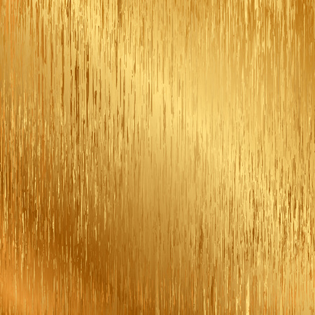 brass plate: Vector illustration of gold texture