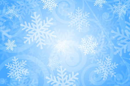 froze: Vector background with snowflakes