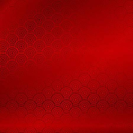 year snake: Vector red background with abstract pattern chinese style