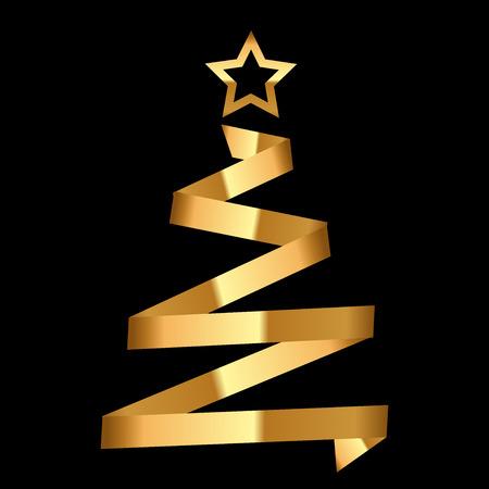 tree design: Vector Christmas fir tree Illustration
