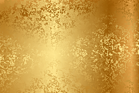 brass plate: Vector metal texture
