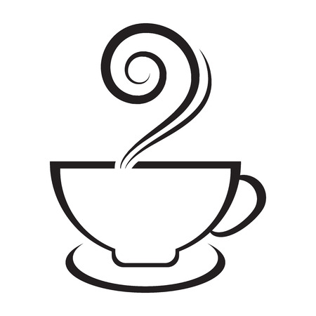 Vector icon of cup