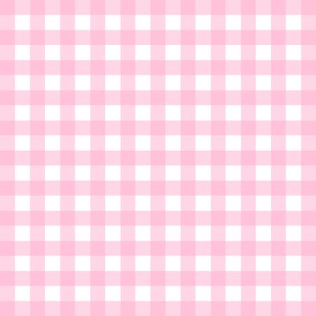 ピンクのギンガム チェック パターン ベクトル  イラスト・ベクター素材