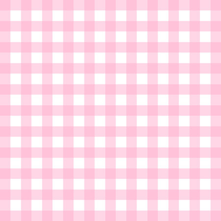 Vector gingham pattern in pink Фото со стока - 64828535
