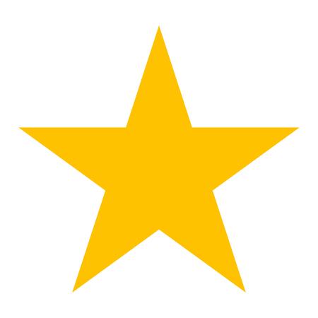 Vector symbol - star icon Illustration