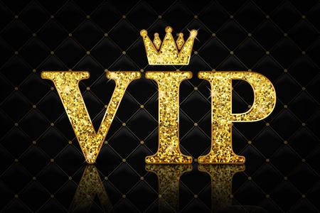 Vector VIP icon Illustration