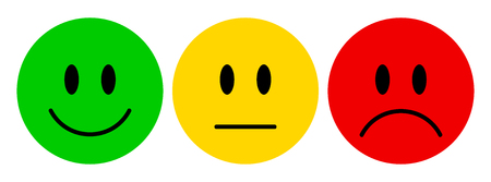 Expressions smiley icon set 版權商用圖片 - 90822097