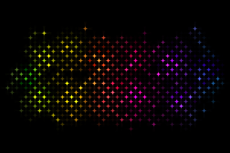 Abstract colorful disco lights pattern