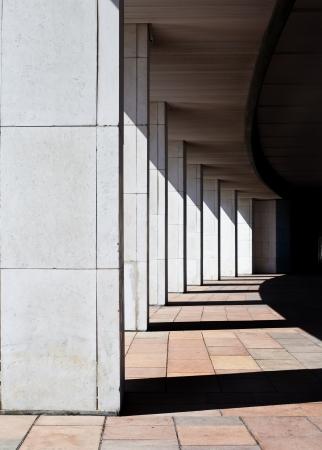 colonade: Modern building colonade