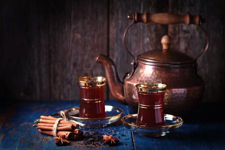 Tea in oriental style