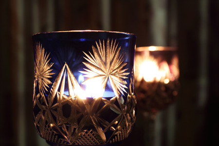 recollections: Candles in the Wineglass