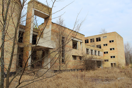 chernobyl: Deserted School in Chernobyl Zone