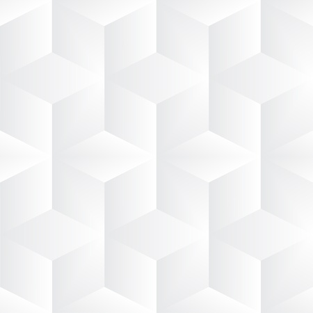 Geometric vector grey cubes background