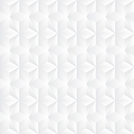 hexagonal pattern: Geometric vector grey pyramids background Illustration