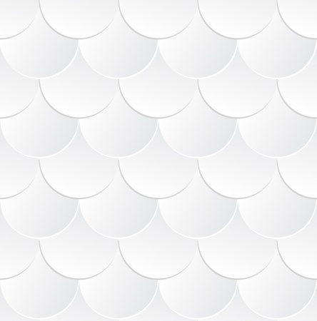 Gray metallic fish scale background Vector