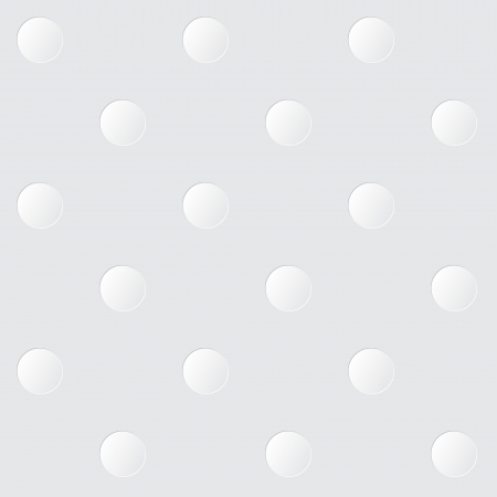 White spots on a gray background seamless pattern Vector
