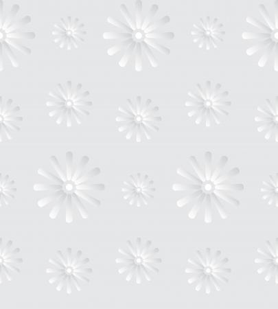 repujado: Fondo transparente con flores de la margarita