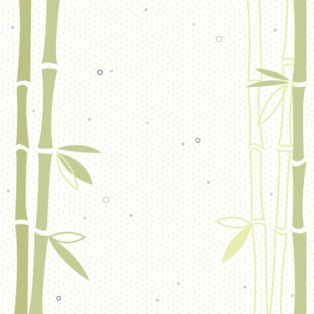 tree ring: Bamboo vector background Illustration