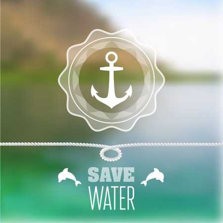 Concept for ecological banners and websites. Vector illustration Vector