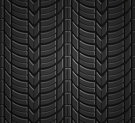 tread: Wheel tire seamless pattern