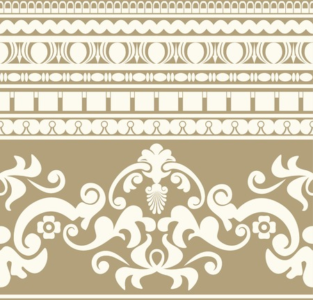 hellenistic: Greek ornament seamless pattern