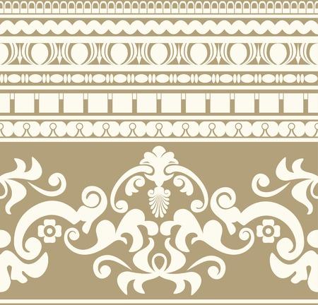 Greek ornament seamless pattern Vector
