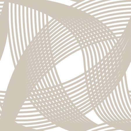 intersect: Crossing lines seamless pattern on white background