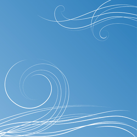 wind: Abstract blue background with some swirls