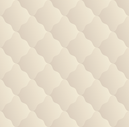 beige background: Geometrical seamless pattern with rhombus. Vector background