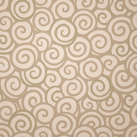 Abstract swirl wallpaper seamless pattern. background