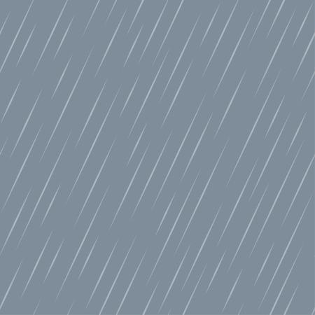 dreary: Rain abstract seamless pattern. illustration Illustration