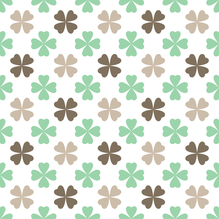 abstract seamless floral pattern Ilustração