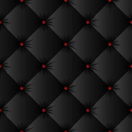 검은 실내 장식 텍스처 원활한 패턴. 쉬운 편집 가능한 배경 색상입니다. 벡터 일러스트 레이 션