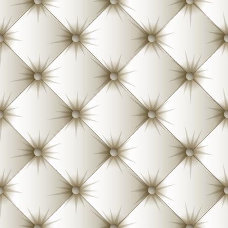 화이트 실내 장식 원활한 패턴입니다. 쉬운 편집 가능한 배경 색상입니다. 벡터 일러스트 레이 션