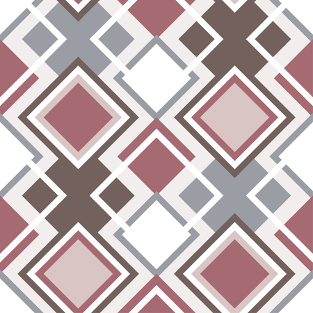 Abstract seamless geometrical pattern vector illustration.