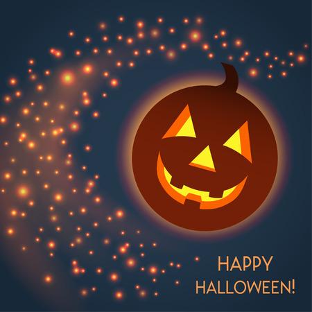 Happy Halloween Illustration Ilustração