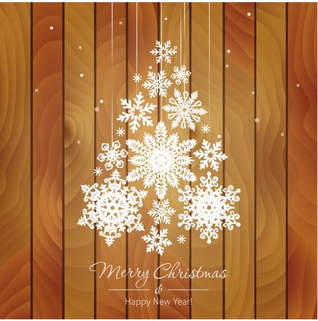 메리 크리스마스와 행복 한 새 해 그림