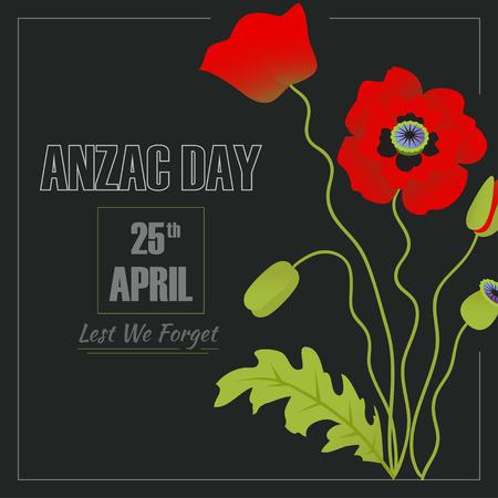 Anzac Day illustration 일러스트