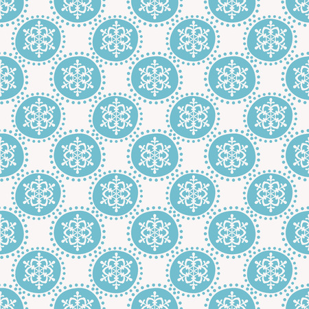 gift pattern: Winter pattern with snowflakes. Seamless background. Vector illustration.