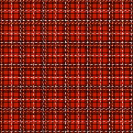 christmas plaid: Seamless tartan pattern. Traditional scottish fabric plaid. Vector checkered background.