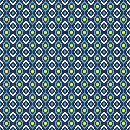 青、白、緑の色で抽象的なシームレス パターン。ベクトルの背景。 写真素材 - 51232057