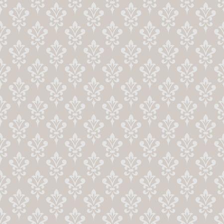 victorian wallpaper: Damask wallpaper. Elegant background in Victorian style. Elegant vintage ornament in monochrome colors. Vector seamless pattern.