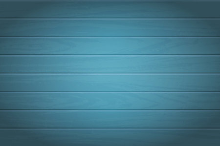 Wooden background. Vector texture of table surface. Top view. Blue wood boards.  イラスト・ベクター素材