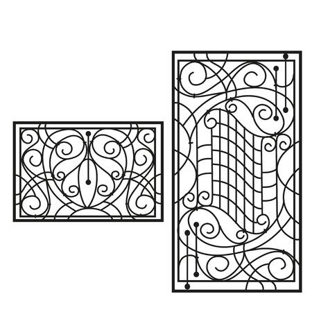 The artistic forging products lattice Illustration