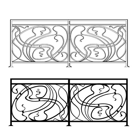 cast iron: The artistic forging products lattice Wrought Iron Door, Fence, Window, Grill, Railing design