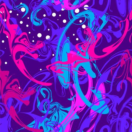 Seamless pattern imitating the spilled oil Illusztráció