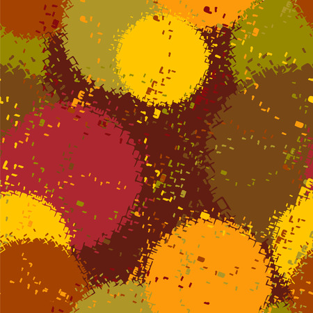 randomly: randomly pattern out multicolored circles