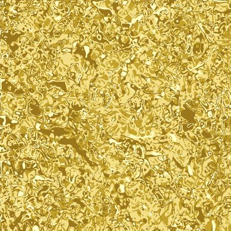 modèle de conception inhabituelle de l'or fondu