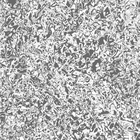 unusual design pattern of molten silver, chromium, mercury